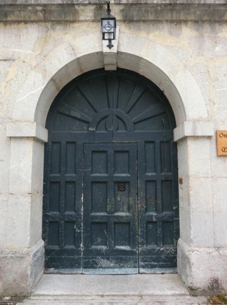 Porte avant restauration