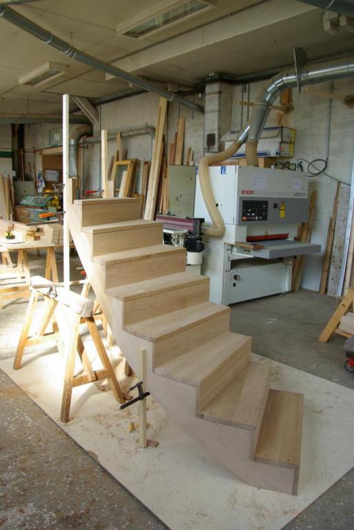 Escalier montage