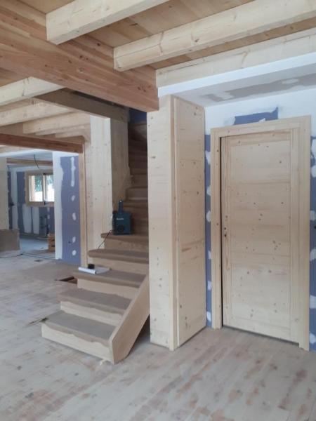Les portes posées