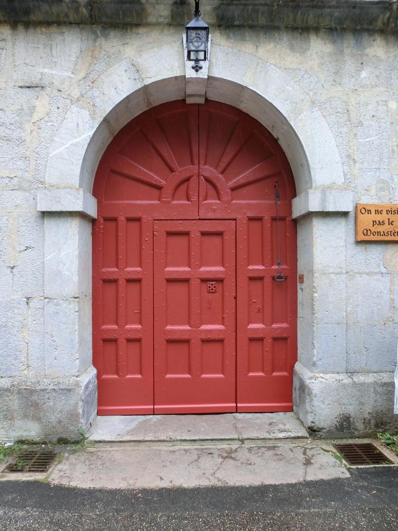 Porte restaurée